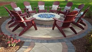 glass fire pits outdoor designs within plan 16