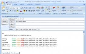 Create Outlook Message Template Creating And Using Templates In Outlook 2007 And Outlook 2010 To