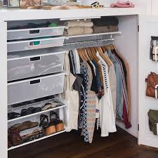 small interior organizer design with elfa closet elfa closet with hanging clothes storage and shoe
