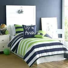navy and green bedding twin kids comforter sets com page blue white striped 7 lime nursery