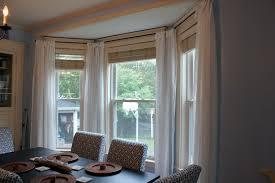 Dining room window curtains