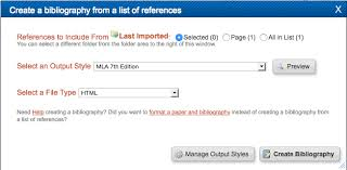 Creating Bibliography - RefWorks - Research Guides at CUNY Lehman ...