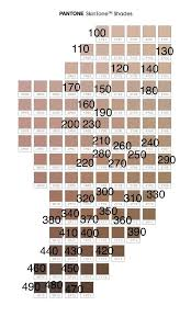 Fenty Pro Filter Foundation On Pantone Skin Tones Chart In
