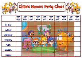 Digby Dragon Personalised Potty Toilet Reward Chart Stickers