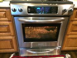 Kitchenaid Gas Stove Double Oven And Stoves Kitchen Ranges Electric Plus Aid