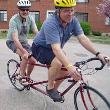 how to tandem bike basics easternslopes com