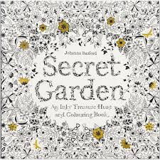 secret garden an inky trere hunt and colouring book by johanna basford