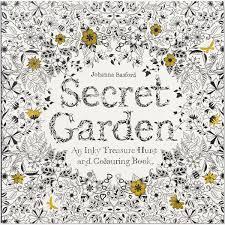 secret garden an inky treasure hunt and colouring book by johanna basford