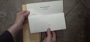 How To Properly Fold A Letter And Place It Into An Envelope Jobs
