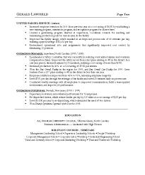 Operation Manager Resume. Sample Resume.