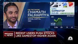 Investor Chamath Palihapitiya: The ...
