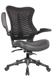Image Office Furniture Office Factor Executive Ergonomic Office Chair Back Mesh Bonded Leather Seat Flip Up Armrest Molded Seat With 55kg Foam Density Double Handle Mechanism Amazoncom Amazoncom Office Factor Executive Ergonomic Office Chair Back Mesh