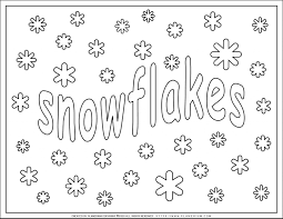 Here are a bunch of free printable winter coloring pages for kids to color! Winter Coloring Pages Snowflakes Planerium