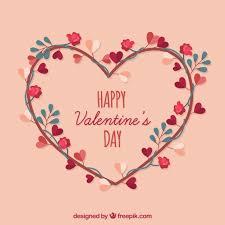 valentines day background. Plain Background Flat Valentineu0027s Day Background Free Vector In Valentines Day Background S