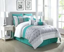 teal queen comforter. Gray And Teal Bedding Comforter Set Best Ideas On Turquoise 8 Yellow . Queen F