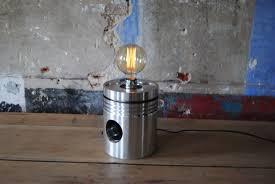 Zuiger Lamp Aluminium Gloej