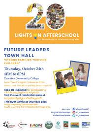 Lights On Afterschool Coconino Community College Lights On Afterschool Future
