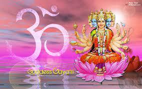 1080p Gayatri Mata HD Wallpaper Full ...