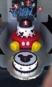 Mickey Mouse 1st Birthday Cake 11 Mickey Mouse First Birthday Cakes
