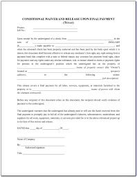 Free Subcontractor Lien Waiver Form Lien Waiver Forms Free Form Resume Examples Jmmdjedlr1