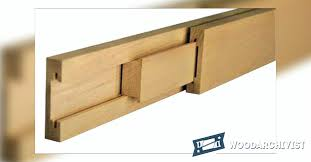 Building Drawer Slides Making Wooden Drawer Slides Woodarchivist
