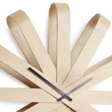 <b>Часы настенные Umbra ribbon</b> дерево — купить по цене 6900 ...