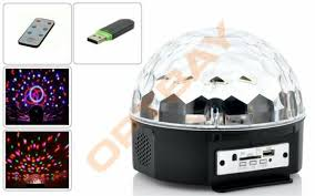 <b>Светодиодный диско</b>-<b>шар LED Magic</b> Ball 9 DMX Remote ...
