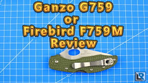 <b>Firebird F759M</b> Review (<b>Ganzo</b> G759) - YouTube