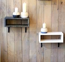 floating nightstand diy wall hanging nightstand bedside