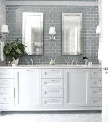 bathroom gray subway tile. Grey Bathroom Gray Subway Tile