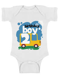 awkward styles birthday boy baby bodysuit short sleeve toy truck gifts for 2 year old baby boy 2nd birthday party one piece top truck themed birthday party