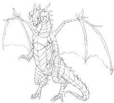 ドラゴンの描き方ドラゴンの絵が描きたい獣に翼生やしておけばいいん