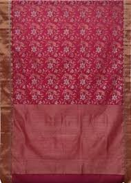 Chanderi Silk Cotton Saree CHA1SAR110 PINK SI-KO CHANDERI ZARI ... & Chanderi Saree RANI PINK SI-KO CHANDERI ZARI SAREE WITH FANCY JUNGLE  DESIGN, FULL JAAL Type HANDWOVEN CHANDERI Material COTTON WARP, SILK WEFT  Length mtrs ... Adamdwight.com