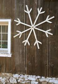 large glittery white wooden snowflake by blackbellfarm on 39 00