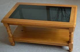 wooden coffee table with glass top nice solid wood square designs cof