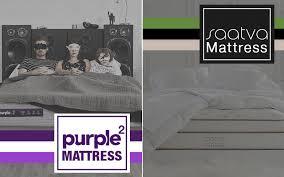 saatva mattress sagging. Modren Mattress See Which Is The Better Bed In This Saatva Vs New Purple Mattress Review Intended Mattress Sagging