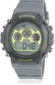 digital watches buy digital watches online at best prices in sonata nh77006pp02j digital watch for men