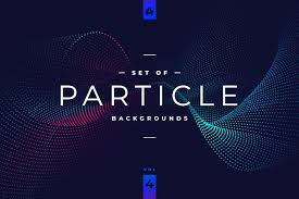 Particle Backgrounds Web Design Particle Abstract Backgrounds Vol 4 Aff Science