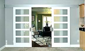 barn doors with glass inserts pocket interior door kit exterior diy wi barn doors with glass