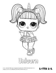 Coloring Pages Coloringeets For Girls Unicorn Page Lotta Lol