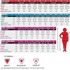 Kilpi Size Guide Sportpursuit Com Size Chart Outdoor