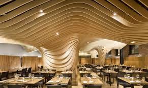 Small Picture Banq Restaurant Interior Unique Design Ceiling Restaurant by