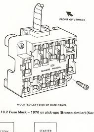 fuse block 1976 ford truck enthusiasts forums heres a scan from my haynes book