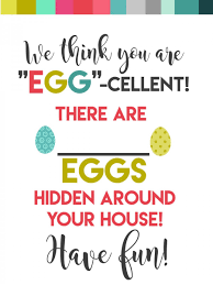 easter egg hunt template surprise your neighbors or kids with an easter egg hunt free