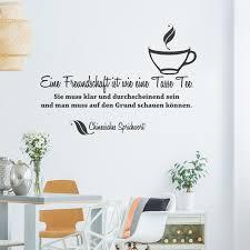 Wandtattoo Spruch Eine Freundschaft Ist Wie Eine Tasse Tee