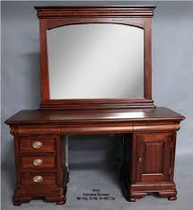 details about mahogany wood dressing table mirror vanessa bedroom furniture antique style