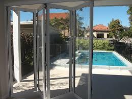 top hung aluminium folding doors