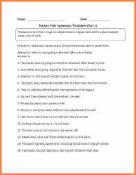 8+ subject verb agreement worksheets 4th grade | Purchase ...