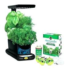 indoor herb garden kit. Indoor Herb Garden Kit Miracle Gourmet Seed Pod .