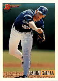 1993 Bowman Toronto Blue jays béisbol tarjeta #631 Aaron pequeño Novato |  eBay